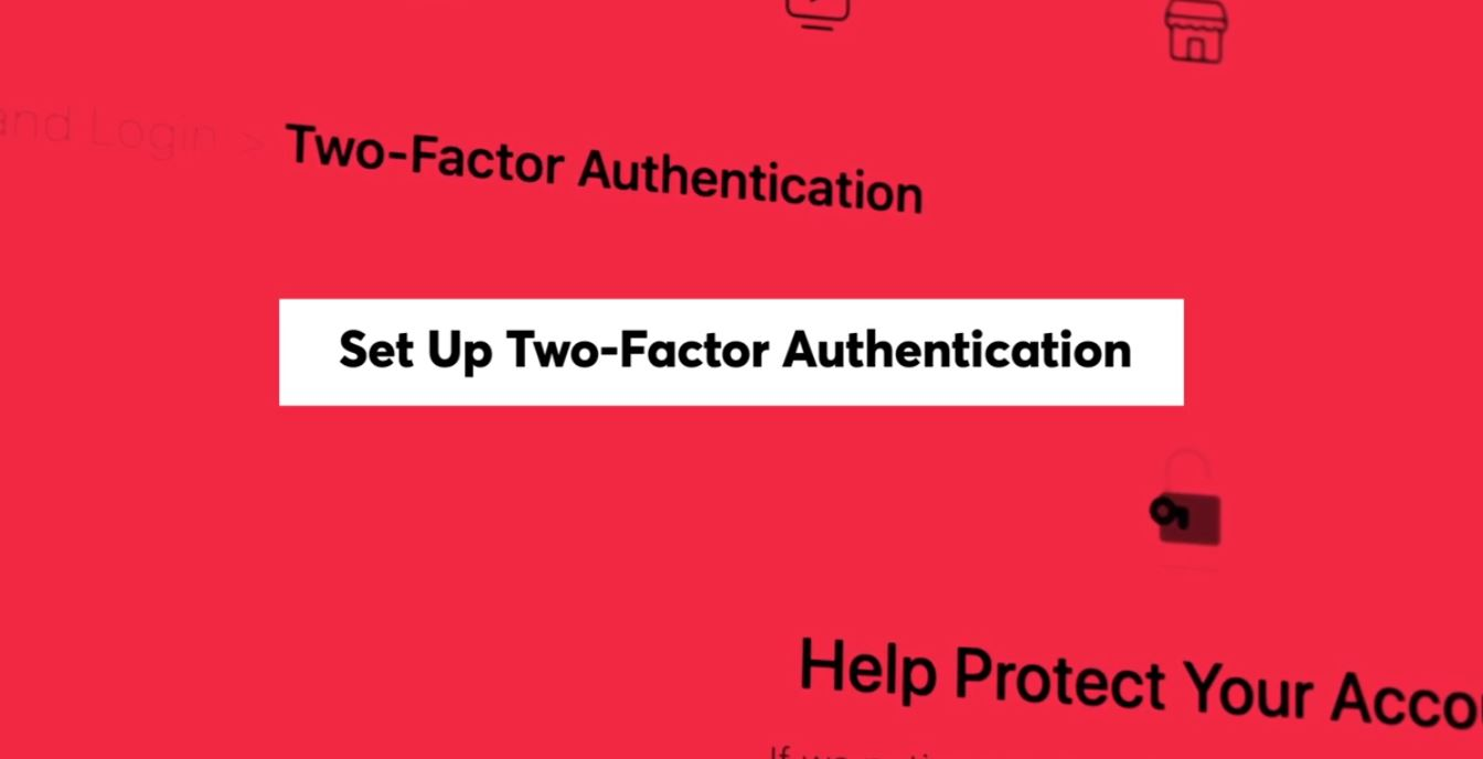 First, CR recommends setting up a two-factor authentication, something you might already use with online banking and other more secure sites.{ } (Photo Credit: Consumer Reports)