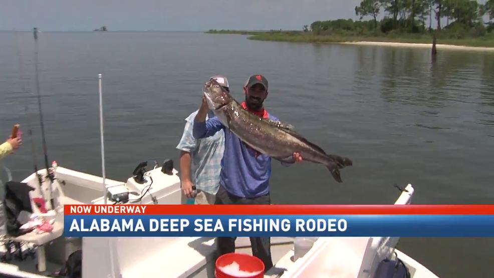 Anglers kick off the annual alabama deep sea fishing rodeo for Deep sea fishing mobile al