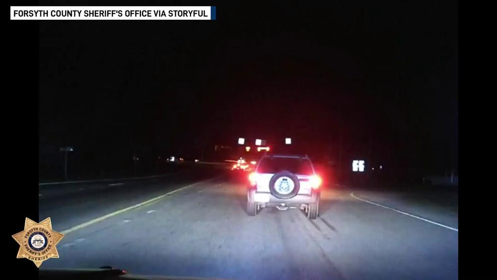 Drunk driver leads Georgia deputies in late night chase | WTVC