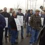 Hundreds of Hannaford Distribution workers launch strike