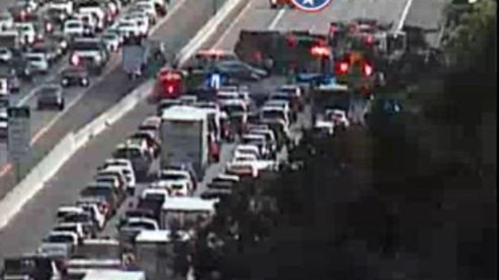 Multi-car crash closes I-65 South in Williamson County | WZTV