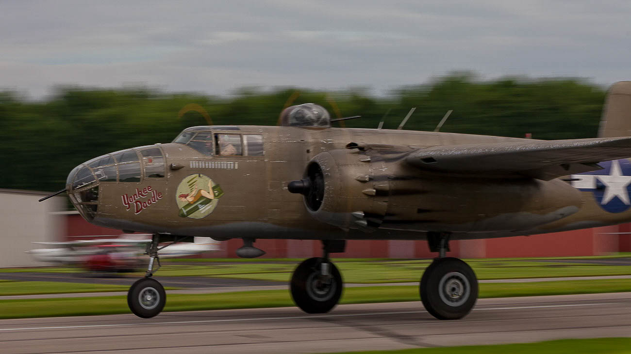 <p>The B-25 is a medium bomber that served in theatres across the globe in WWII. / Image:{&nbsp;}Ernie Muller{&nbsp;}// Published: 10.15.19<br></p>