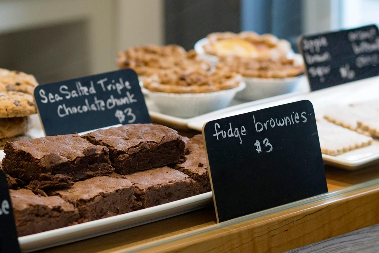 Fudge brownies{ }/ Image: Allison McAdams // Published: 2.7.19
