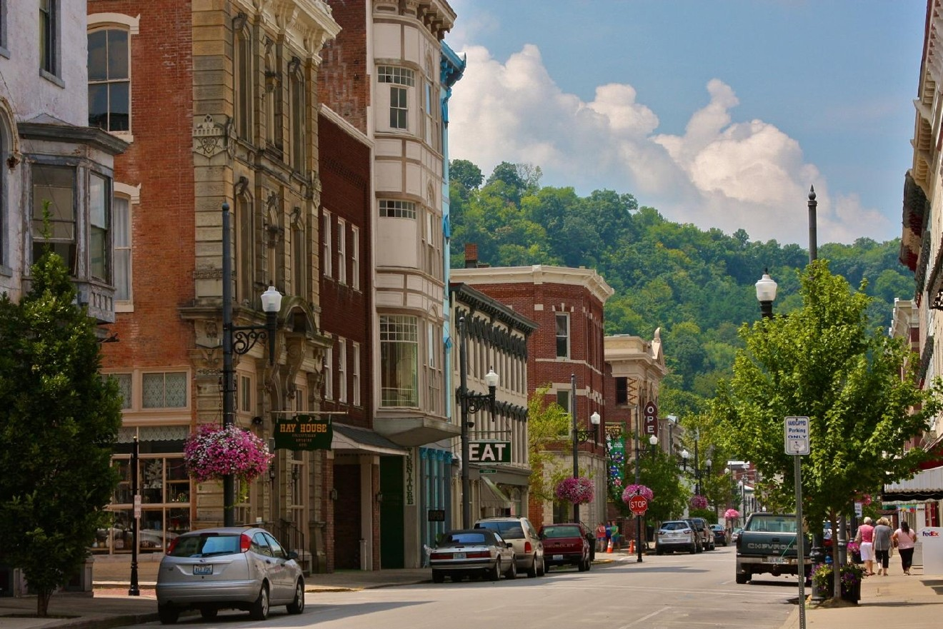 4. PLACE: Maysville, KY / WHAT'S THERE: An abundance of adorableness. Helps that it's located on the picturesque setting of the Ohio River. / DISTANCE: 62.9 miles / DRIVE TIME: 1 hour 15 minutes / IMAGE: Molly Paz / PUBLISHED: 12.4.16