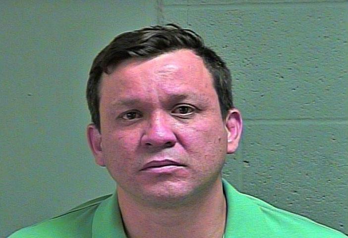 Freddy Montes, 41, was arrested March 28 in Oklahoma City on complaints of offering to engage in an act of prostitution. (Oklahoma County Jail)