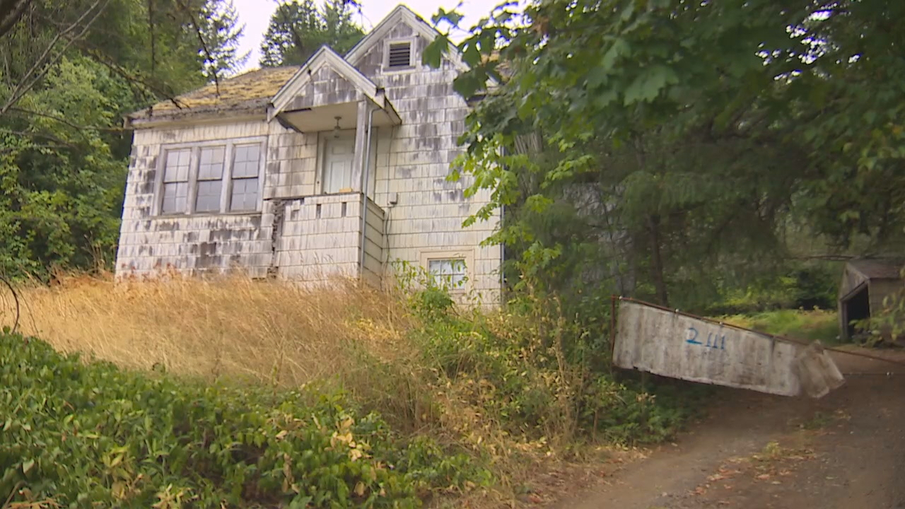 The three brothers are connected to this Shelton home. Cadaver dogs will reportedly be used to search the home on Saturday. (Photo: KOMO News)