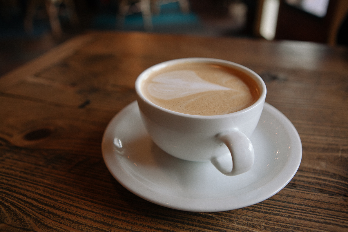 While on Bainbridge Island there are no shortage of caffeine fixes, but Pegasus Coffee House is one of the best options. With all of your favorite drinks and pastries, they are open from 7am to 7pm Friday through Monday and 7am to 10pm Tuesday through Thursday. (Joshua Lewis / Seattle Refined)