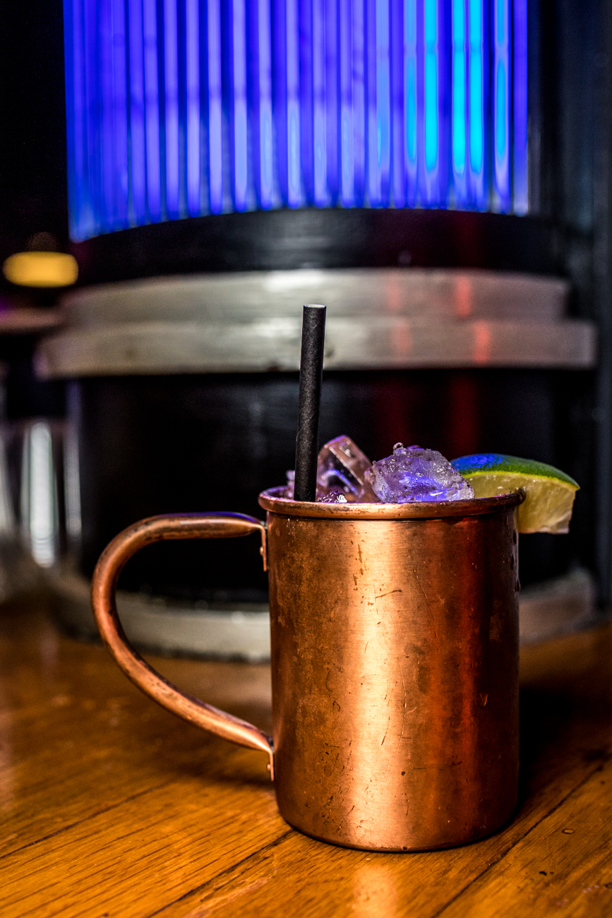 Moscow Mule: Tito's Vodka, splash of lime, and topped with ginger beer / Image: Catherine Viox{ }// Published: 12.26.19