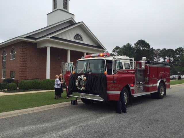 Crisp County said goodbye to one of their own Tuesday afternoon. / Kerri Copello