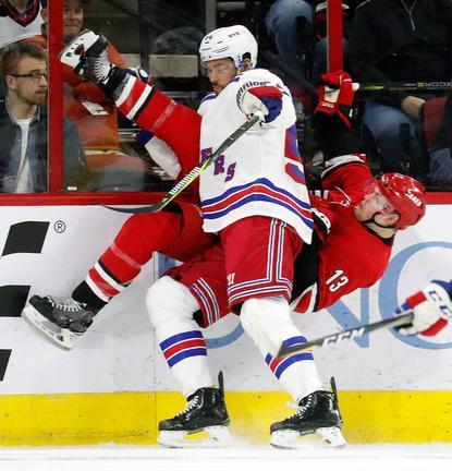 Lundqvist, Namestnikov help Rangers beat Hurricanes 2-1 | WMYA