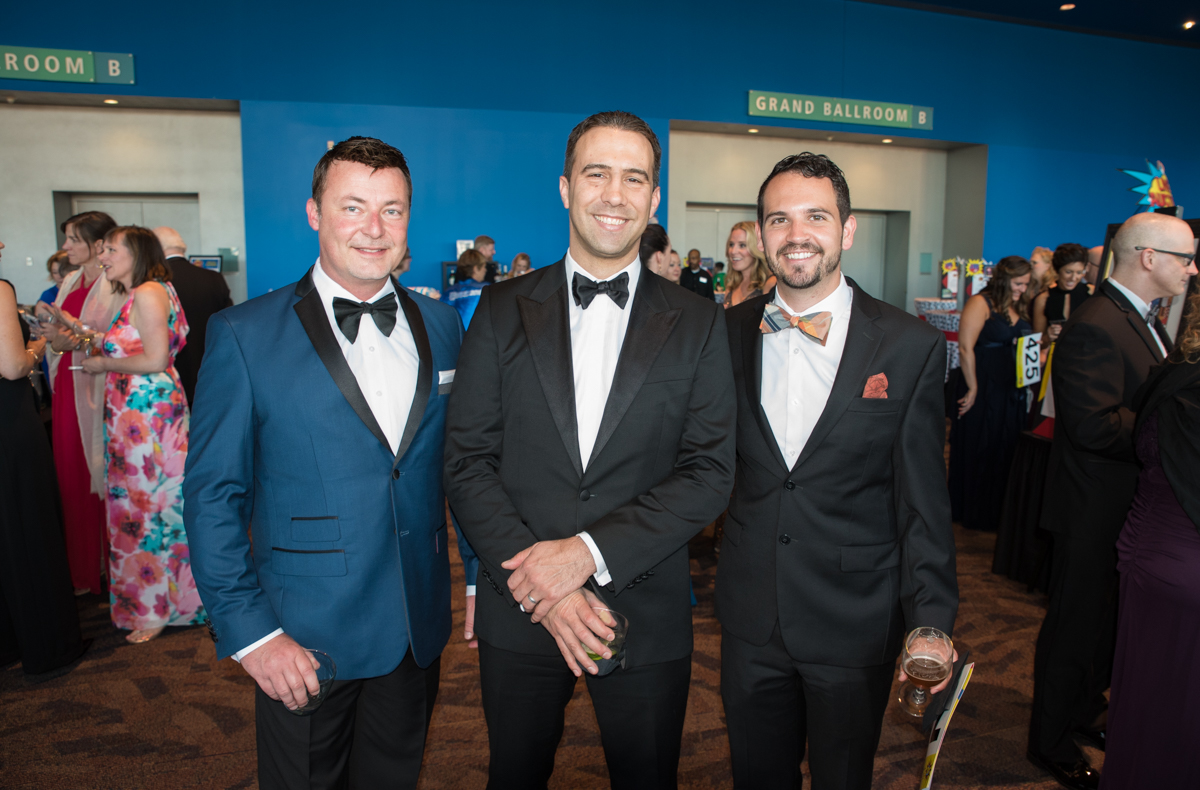 People: Scott Farmer, Vito Damiano, and Michael Baer / Event: JDRF Gala (5.13.17) / Image: Sherry Lachelle Photograph // Published: 5.31.17