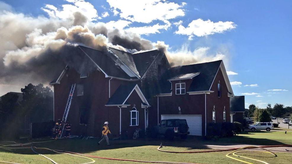 Perfect Mt. Juliet Crews Battle House Fire