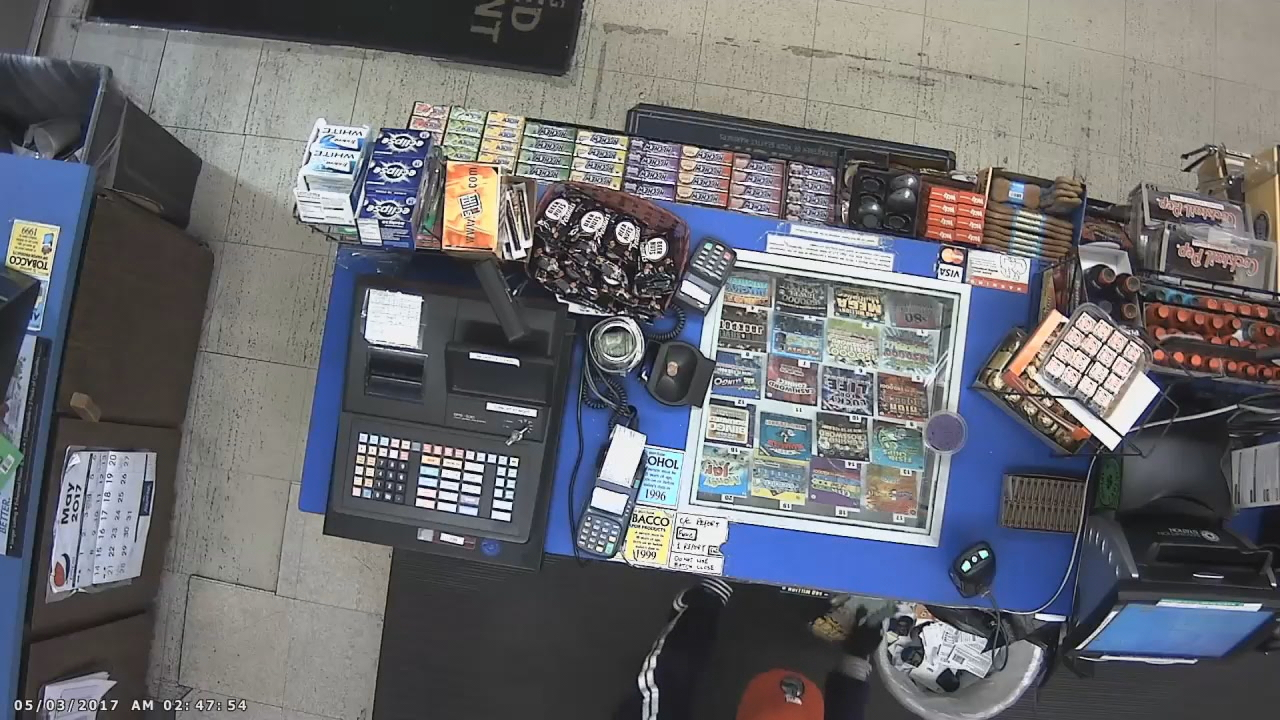Police thieves are targeting small stores, bypassing the cash registers and going straight for the scratch lottery tickets. (Photo: screen grab from Bothell surveillance video)