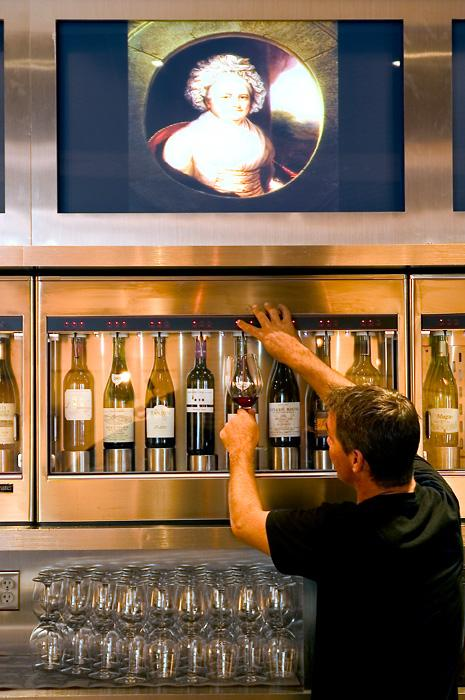 Proof - wine dispense (Photo: Proof)