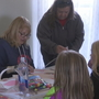 Kids come for the candy, stay for the crafts at American Gothic House Easter event