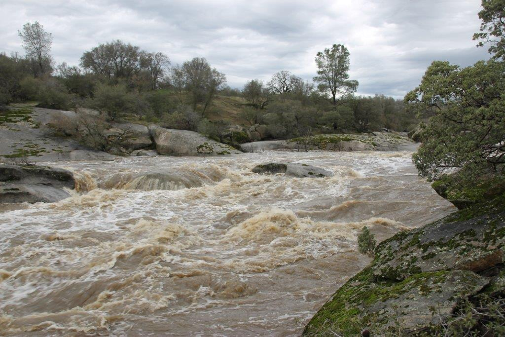 Fresno River near Yosemite Lakes Park by Ernie Lautsch 1-9-17