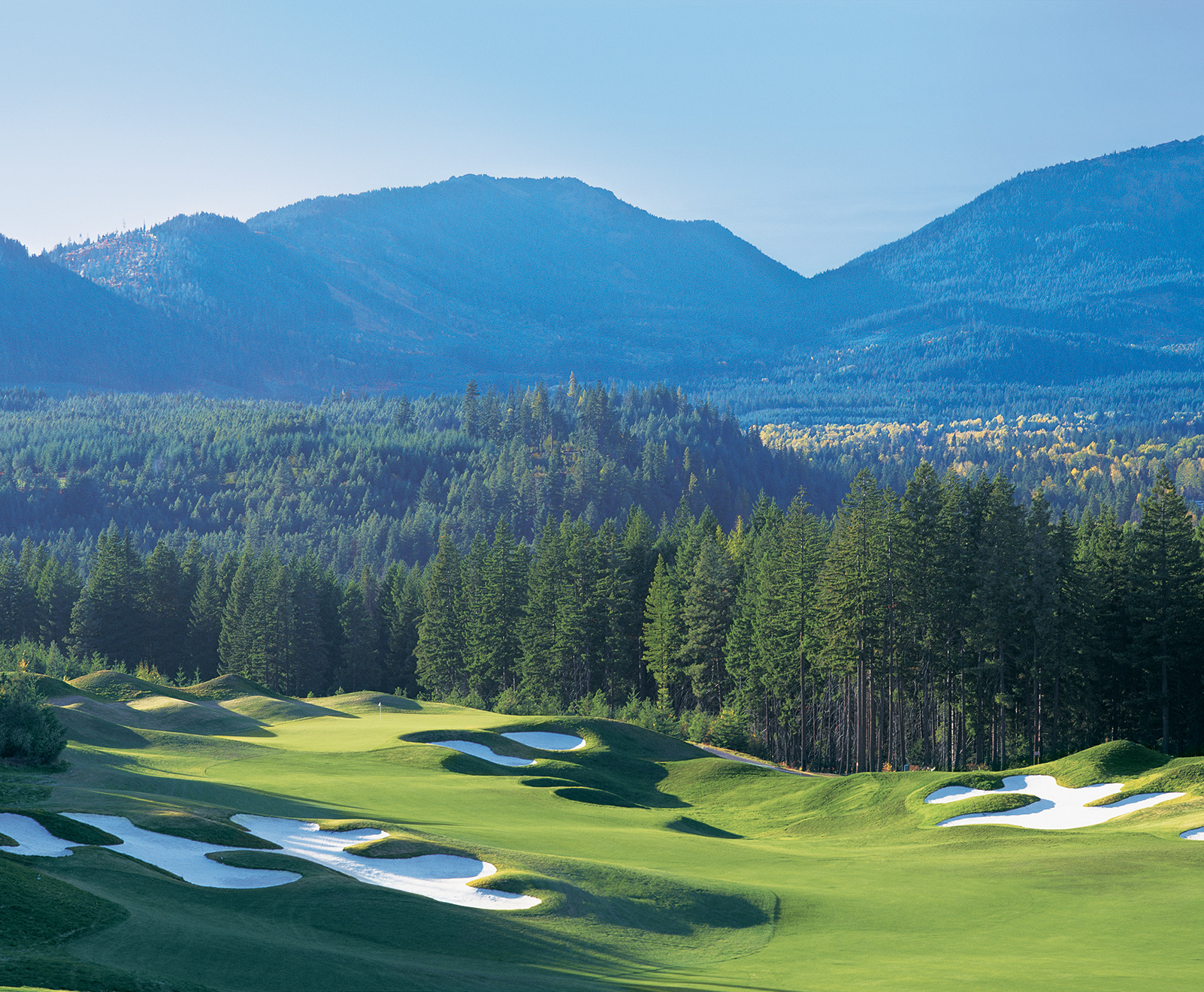 Suncadia is home to 36 holes of award winning golf, take advantage of long Summer days and get in a round or two.