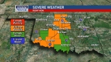 Severe thunderstorms bring flooding, high winds as they move through Oklahoma