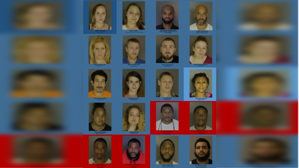 26 charged in heroin bust, police say this is just phase 1 | WHP