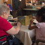 Pre-k kids and senior citizens help each other in Muskogee County