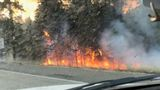 Westbound I-90 near Cle Elum open after brush fire