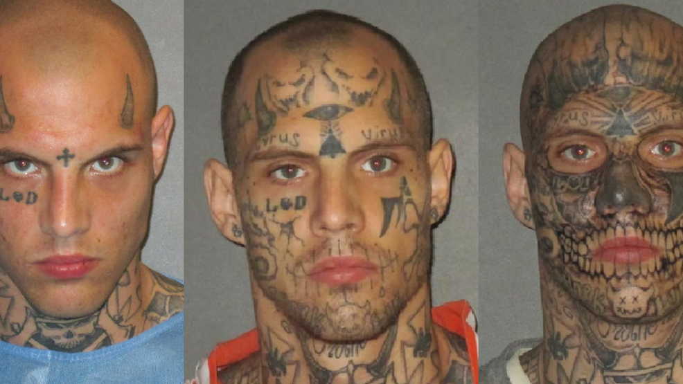 Man who feared facial tattoos would affect trial convicted