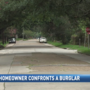 Armed homeowner confronts would-be burglar who cut power to his home