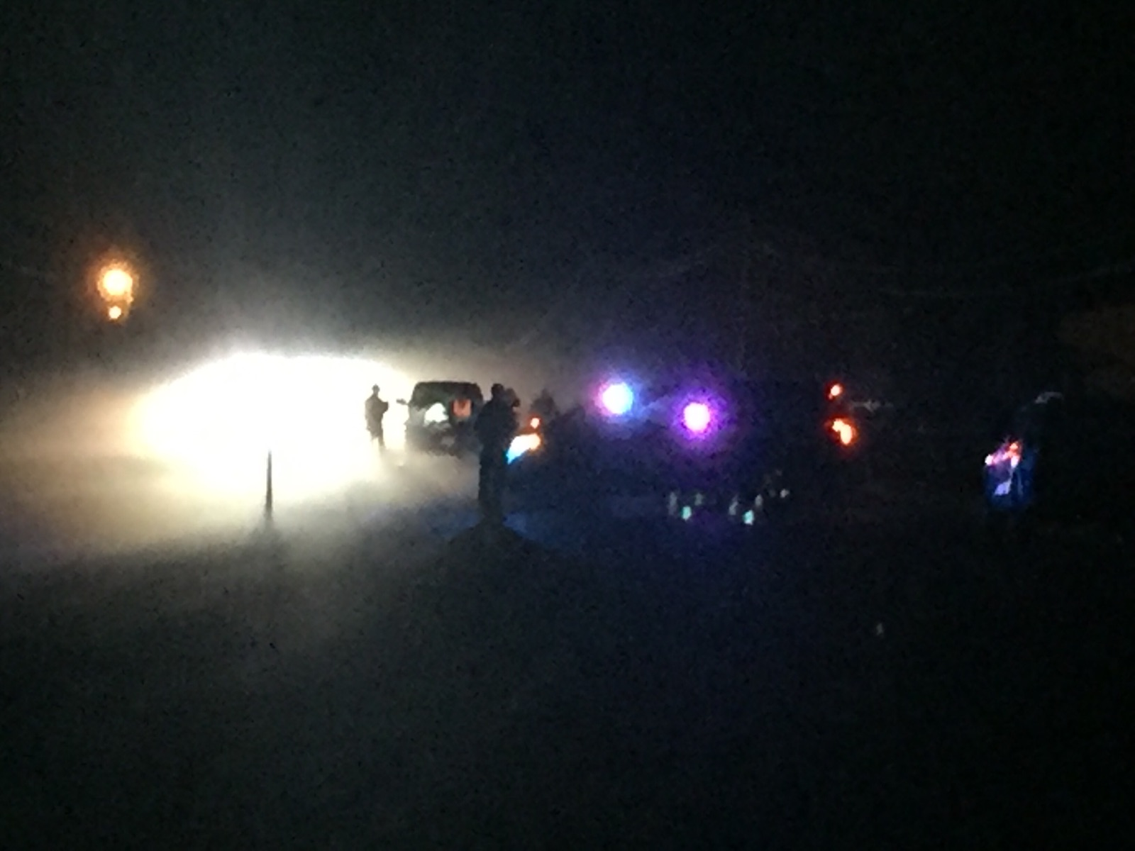 Oregon State Police say a teenage boy is dead after being hit by a car on Highway 99 south of Creswell, Dec. 6, 2017. (SBG)