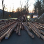 Logging truck overturns, blocking Lexington Turnpike in Amherst Co.