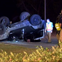 SUV flips several times, tossing driver onto roadway