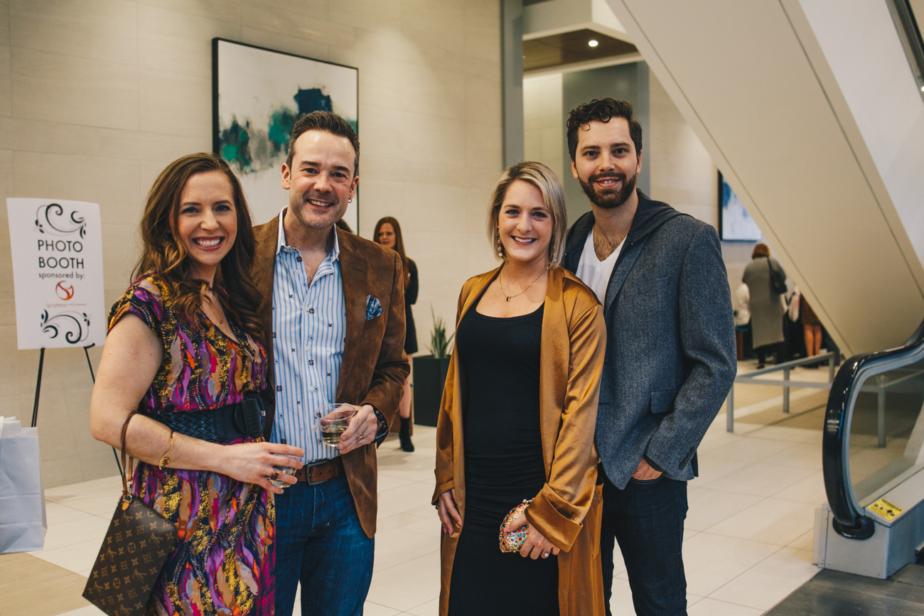 Amy and Pete Scalia, Kelly Maglicci, and Greg Martin / Image: Catherine Viox // Published: 3.23.19