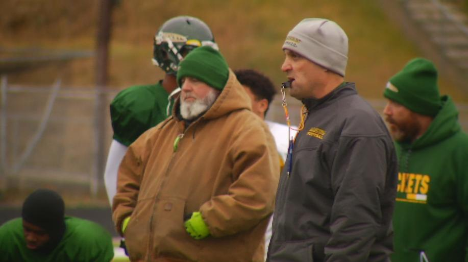 Shane Laws watches practice (WLOS Staff).jpg