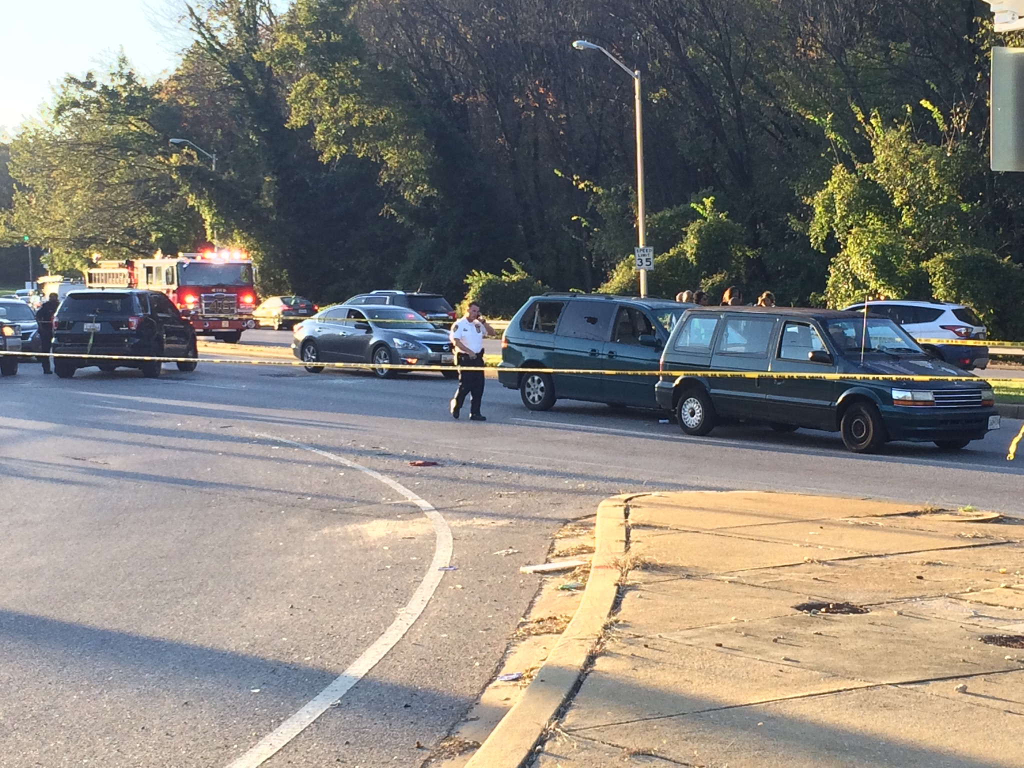 Reported shooting shuts down Northern Pkwy in NW Baltimore