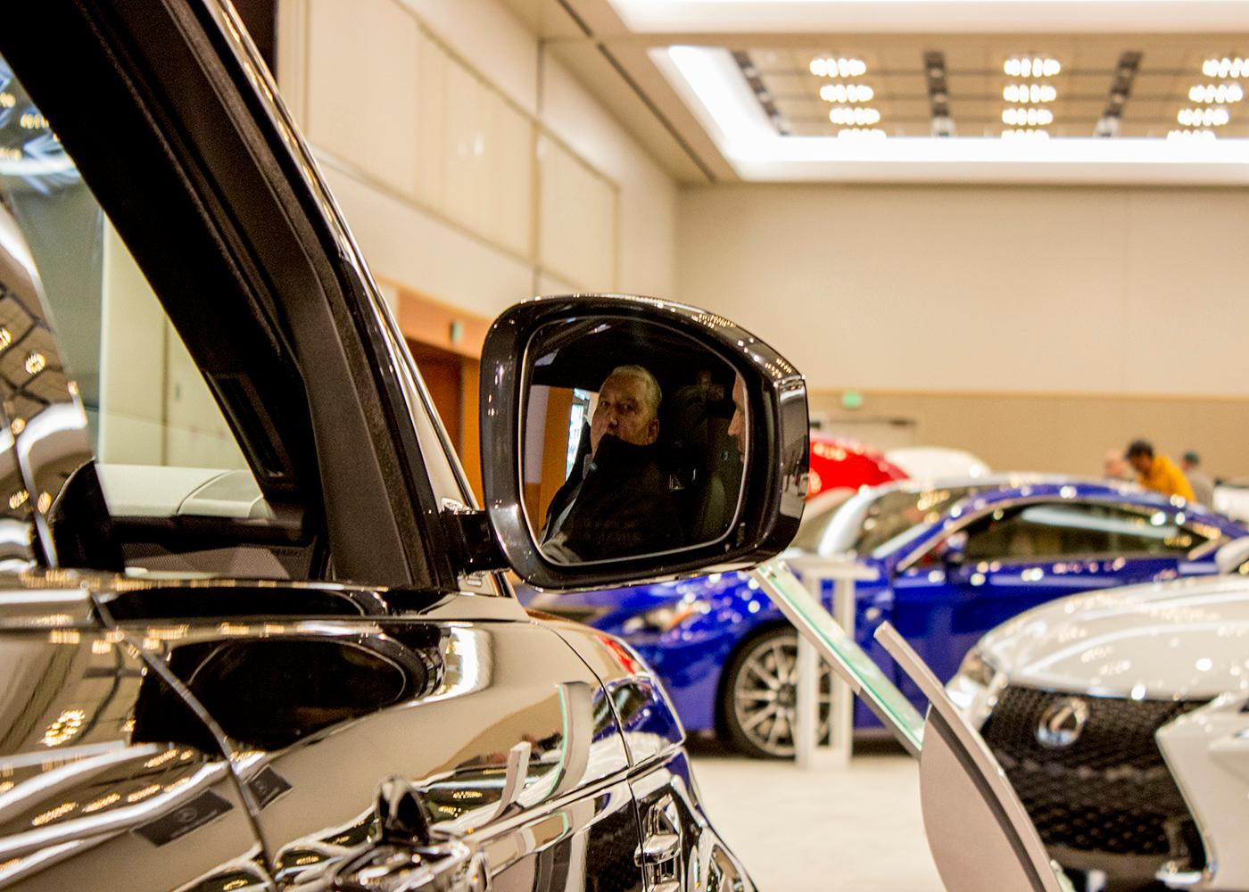 The Portland International Auto Show began at the Oregon Convention Center on Jan. 25, 2018. The event drew prospective buyers and others who enjoyed looking at and comparing vehicles. Photo by Amanda Butt