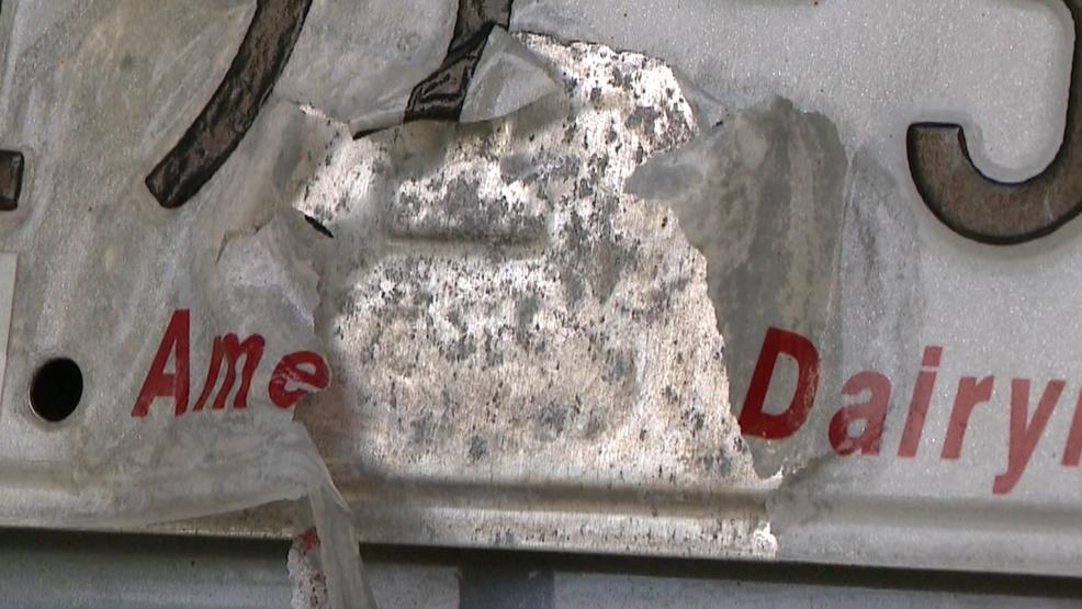 FOX 11 Investigates: Deteriorating license plates   WLUK