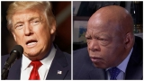 Trump calls out Lewis for inaccurate statement about 'first' inauguration boycott
