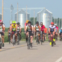 "RAGBRAI honors fallen riders with ""Mile of Silence"""