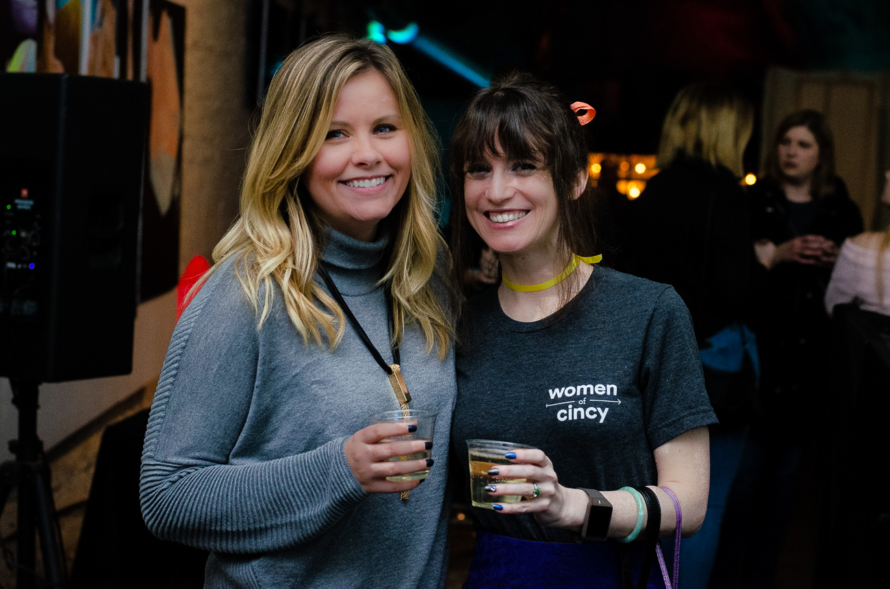 Tracy Van Wagner and Anna Marie, Women of Cincinnati member/organizer / Image: Kellie Coleman // Published: 1.20.19
