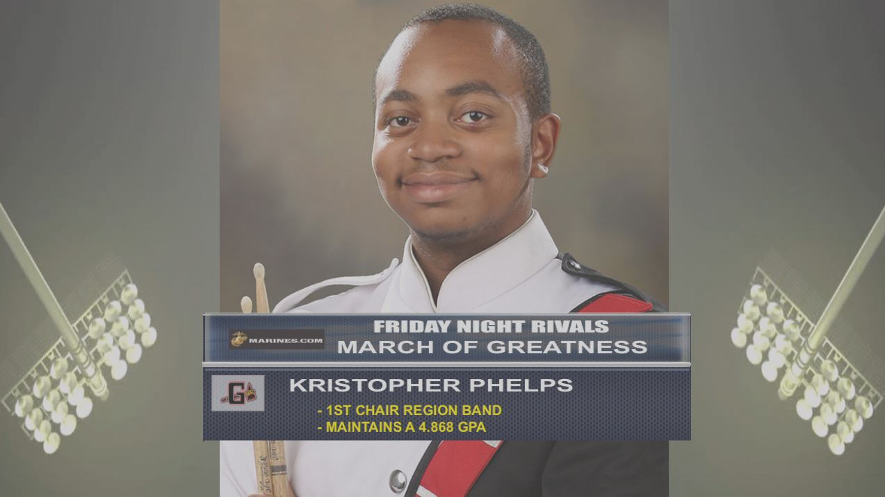 Kristopher Phelps - Marine Corps March of Greatness