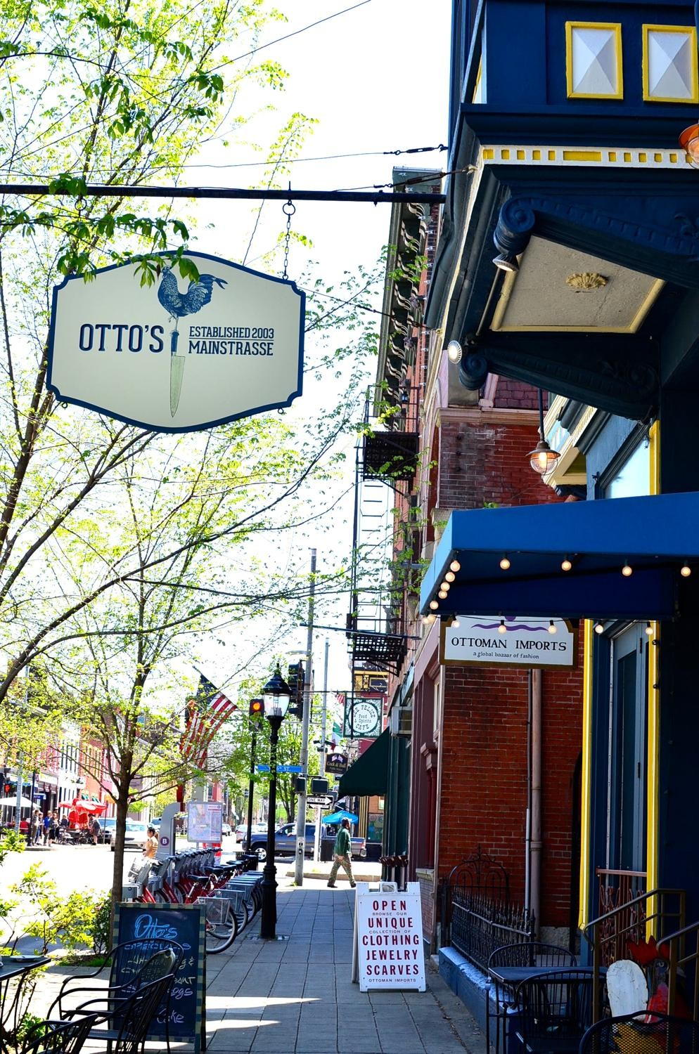 Otto's: deservedly known for its Sunday Brunch, undeservedly unknown for its dinner menu. Quaintly charming all the same. ADDRESS: 521 Main Street / Image: Leah Zipperstein, Cincinnati Refined // Published: 1.6.17