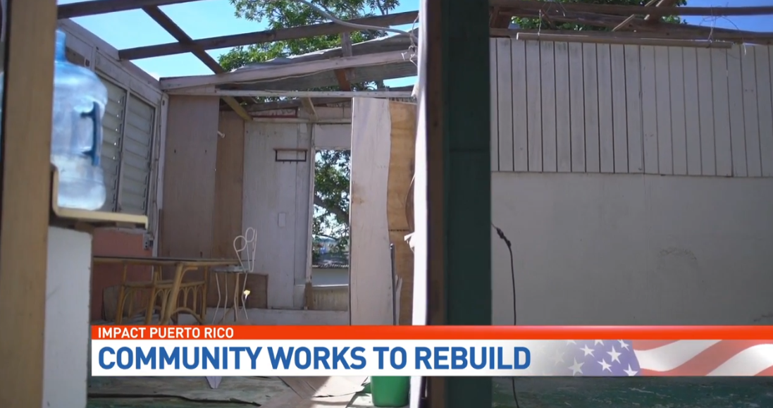 Locals are transforming homes and lives in Puerto Rico. (WPEC)
