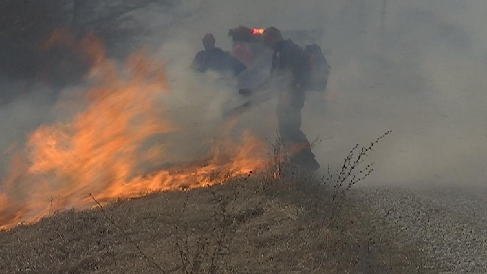 Strong Winds Spread Fire Across Acres Of Farmland Ktvo