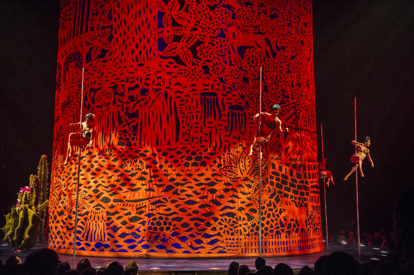 LUZIA will show King County's Marymoor Park in Redmond from March 30 - May 21. (Image: Luzia)