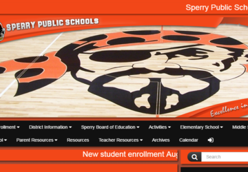 Sperry Public Schools | Calendar and supply lists