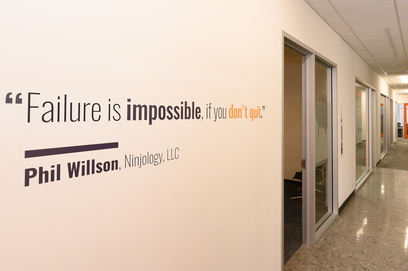 """Failure is impossible, if you don't quit."" - Phil Wilson, Ninjology, LLC / Image: Phil Armstrong, Cincinnati Refined // Published: 2.11.20"