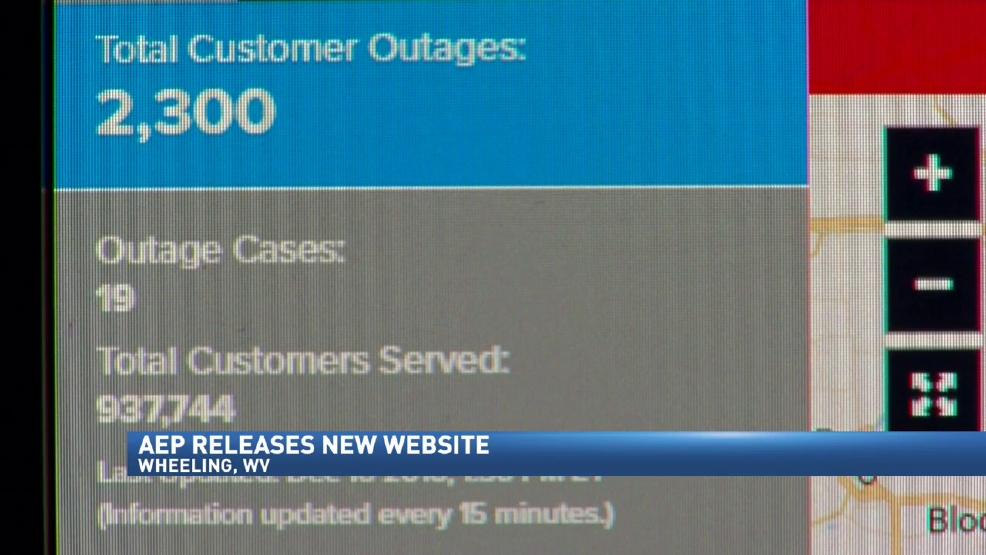 Wv Power Outage Map.Aep Introduces New Outage Map Wtov