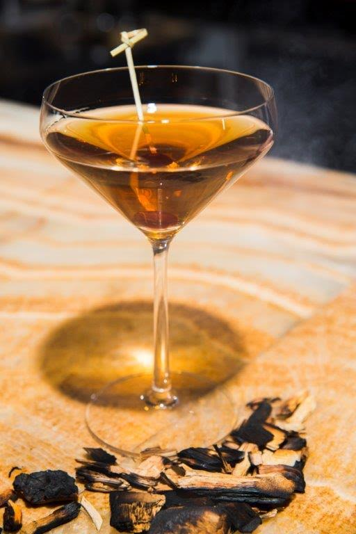 Smoked Manhattan at Trummer's on Main (Photo: Trummer's on Main)