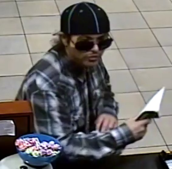 Anyone with information about this man or the robbery Wednesday at Chase Bank in Springfield is asked to call police at (541) 726-3714. (via Springfield Police)