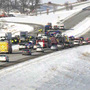 Fatal Dane County highway crash involves about 20 vehicles