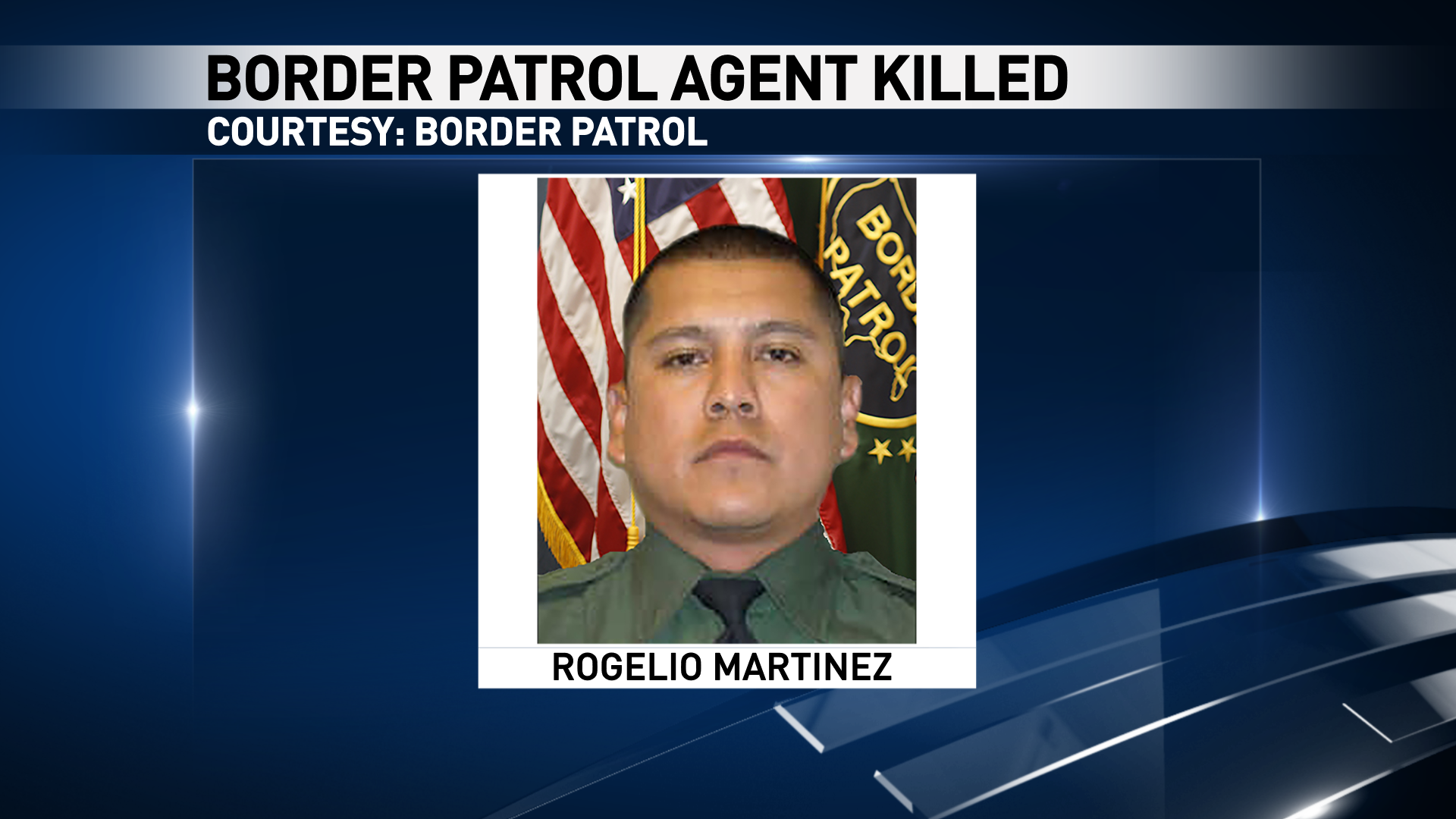 Rogelio Martinez of El Paso was killed in an incident while on duty near Van Horn, Texas Sunday, Nov. 19, 2017.{&amp;nbsp;}(Courtesy Border Patrol)<p></p>